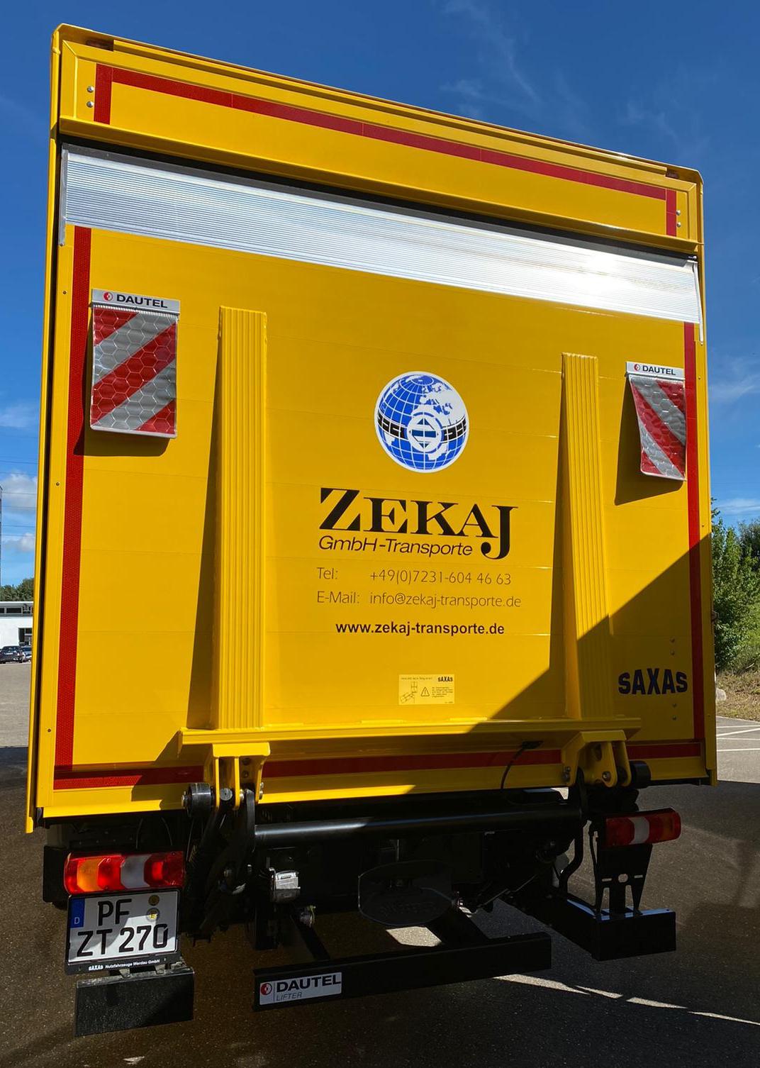 Zekaj GmbH - Fuhrpark Koffer-LKW