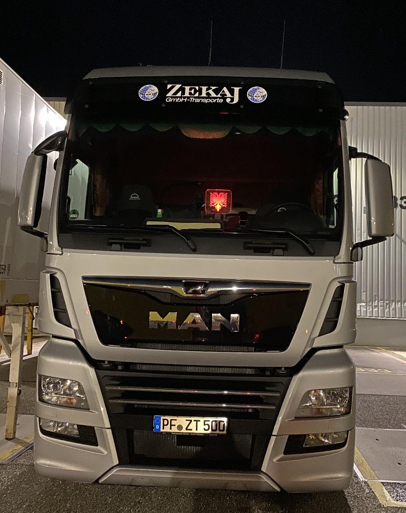 Zekaj GmbH - Fuhrpark LKW Zugmaschine